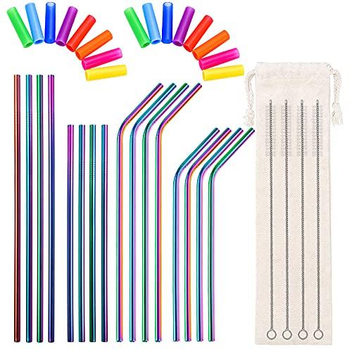 Metal Straw Reusable 8.5
