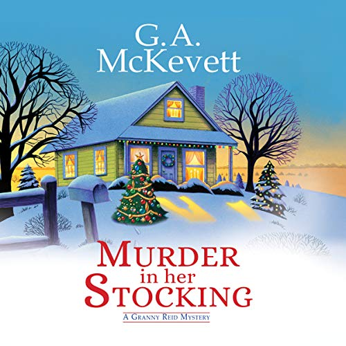 Murder in Her Stocking audiobook cover art