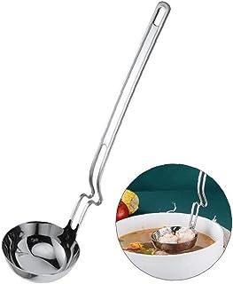 Filtro Colgando Sopa Cuchara De Acero Inoxidable 304 De La Cucharada De La Cuchara Colador De Cocina Ollas Gadgets