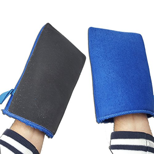 KDS Ultimate Waschhandschuh Mikrofaser Handschuh mit Reinigungsknete Neu