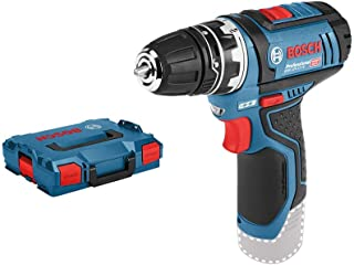 Bosch Professional 12V System GSR 12V-15 FC Cordless Drill/Driver (with GFA 12-B Drill Chuck Adapter, Without Rechargeable...