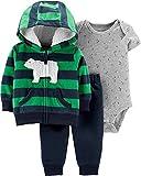Carter's Baby Boys 3 Piece Little Jacket Set (Polar Bear)