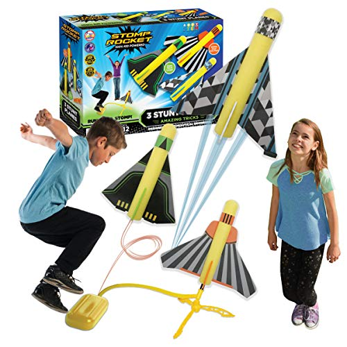 The Original Stomp Rocket Stunt Planes...