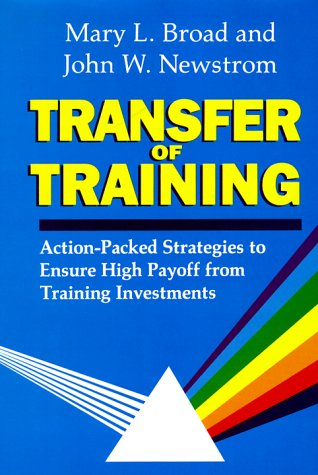Top 13 transfer of training book for 2020