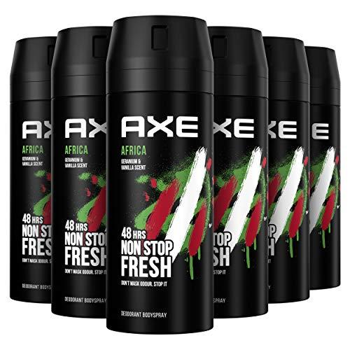 AXE Deodorant Bodyspray Africa - 6 x 150ml