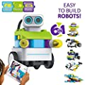 PAI TECHNOLOGY BOTZEES Coding Robot Kit STEM Toys Building Block Remote Control Robot Educational Learning Toys for Kids Ages 4+
