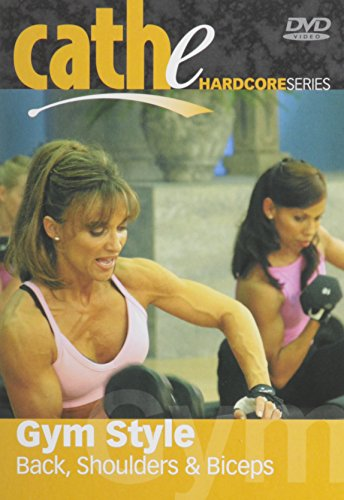 Cathe Friedrich's Hardcore Series: Gym Style Back, Shoulders, Biceps DVD