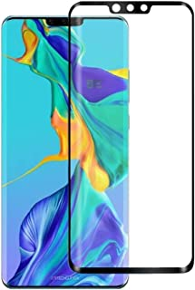 For Huawei Mate 30 Pro Screen Protector Black 0.3mm 9H Surface Hardness 3D Curved Edge Glue Curved Full Screen Film Cover Tempered Glass Film for Men Women Girls Boys The Old (Color : Black)