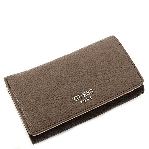 Guess Portemonnaie - Cate - Flap Organizer - Brown Multi