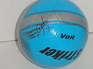 Stevan Jovetic Signed Soccer Ball Manchester City Autographed Futbol - Autographed Soccer Balls