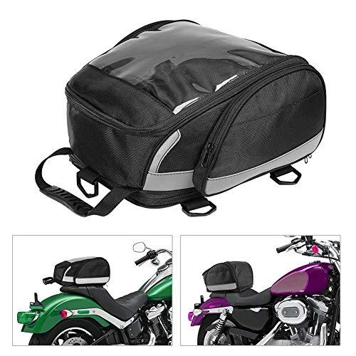 Motocicleta Bolsas De Cola Diseño De Gran Capacidad Bolsas De Asiento Trasero Kit De Bolsa De Viaje Moto Motocicleta Equipaje Deportivo Bolsa De Conductor Del Asiento Trasero Paquete Adecuado