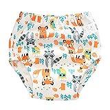 jieGorge Cuidado del bebé, Pantalones de Entrenamiento de algodón para bebés, Bragas, pañales, pañales Reutilizables, Ropa Interior Lavable, Ropa para niños y niñas (H 90)