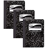 3-Pack Mead College Ruled Paper 100 Sheets Composition Books