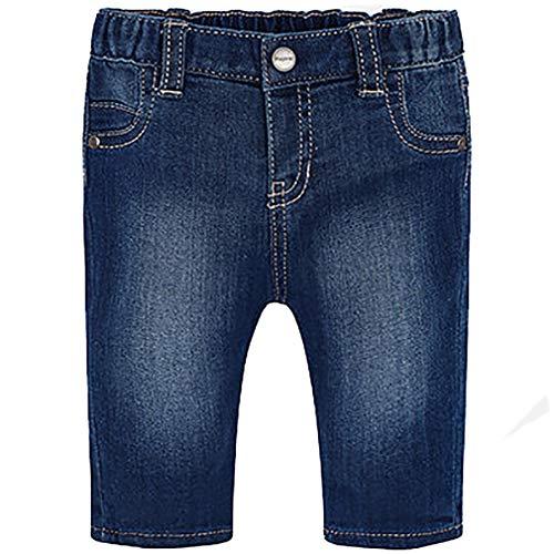 Mayoral – Pantalón infantil con dobladillo acanalado, para bebé Jeans Chiaro 4- 6 meses