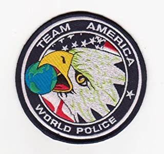 TEAM AMERICA WORLD POLICE PATCH OIF OEF ODA SF ACU CTU COUNTER TERRORIST IRON ON SEW ON PATCH