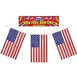 Banderines de plástico bandera de Estados Unidos - Sencillos