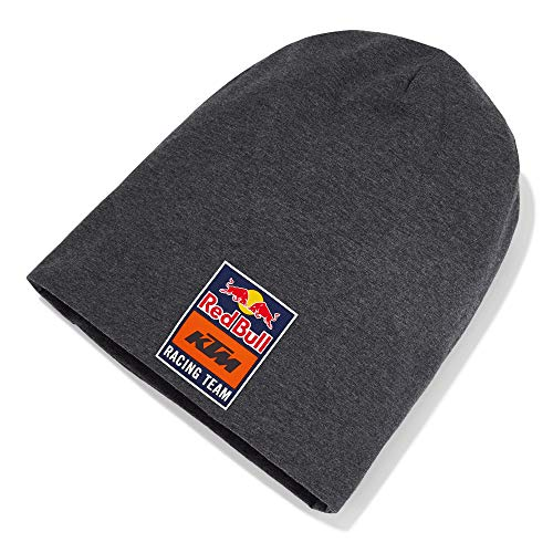 Red Bull KTM New Era Long Beanie, Gris Unisex One Size Beanie, KTM Factory Racing Original Bekleidung & Merchandise