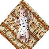 Pendleton Chief Joseph Blanket Baby Swaddle Blankets Nursing Cover Infant Receiving Blankets for Crib, Stroller, Travel(36x 36 Inch)