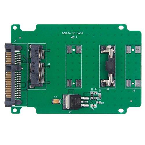 fire bird Transmisión de Datos a Alta Velocidad mSATA Mini-PCI-E Disco Duro SSD de 2.5 Pulgadas Tarjeta de convertidor de SATA