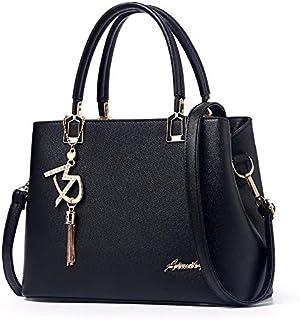 ام دي حقيبة للنساء- سوداء - حقائب يد كبيرة بحمالة