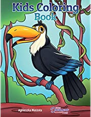 Kids Coloring Book: For Kids Ages 4-8, 9-12