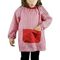 KLOTTZ - BABI PONCHO SIN BOTONES bebé-niños color: ROJO talla: 2