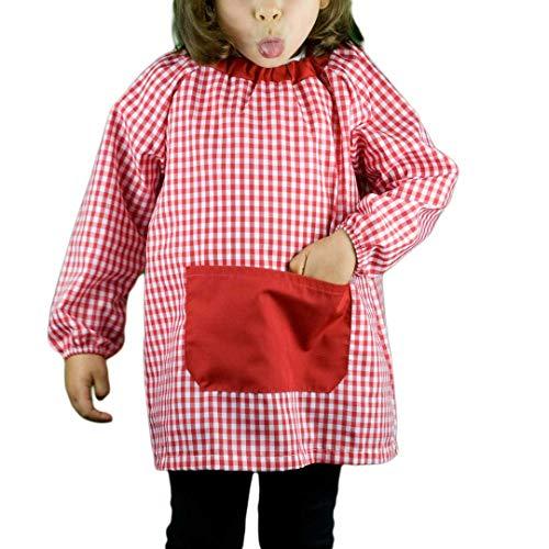 KLOTTZ - BABI Poncho SIN Botones Niñas Color: Rojo Talla: 2