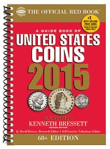 Whitman Coins The Official 2015 Red Book – Guide to U.S....