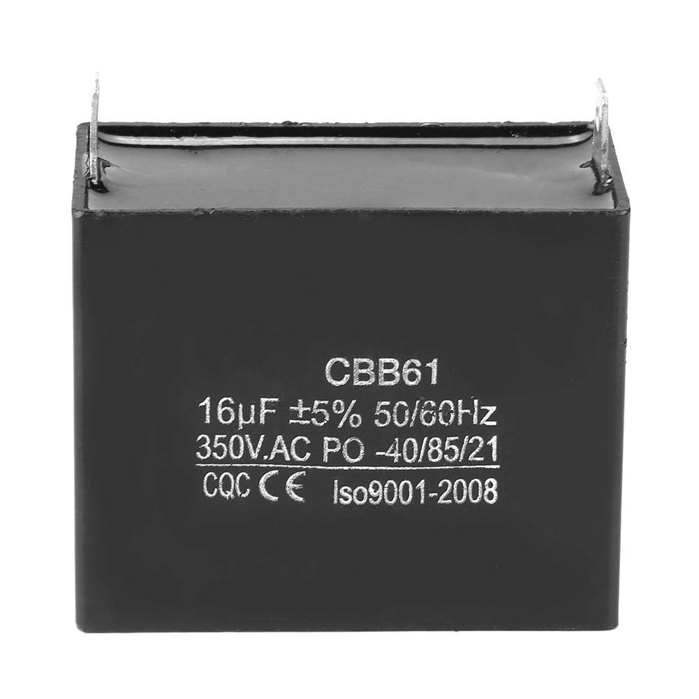 CBB61 Capacitor, Motor Starting Capacitor 350V AC 16uF 50/60Hz M
