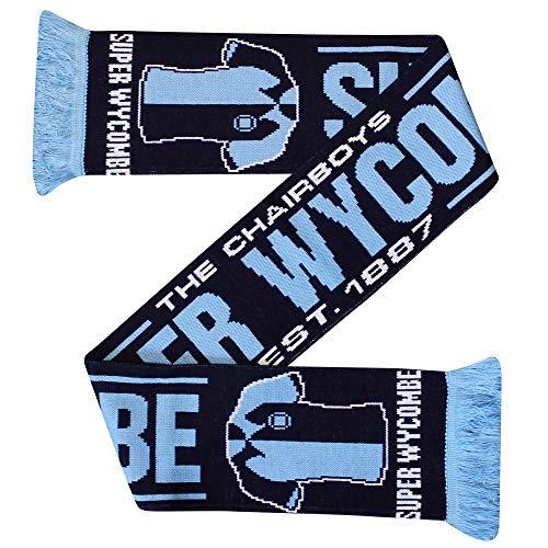 Wycombe Wanderers New Football Fans Scarf (100% Acrylic)