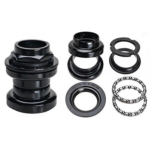 Neco Road, Fixie, Fixed Gear, Urban Bike Headset 2,5cm Gewinde, silber oder schwarz, schwarz