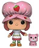 Funko POP Animation: Strawberry Shortcake - Strawberry Shortcake & Custard Action Figure,Multi-colored,3.75 inches