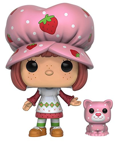Funko 9899 SSC 9899 'POP Vinyl Strawberry Shortcake and Custard Action Figure