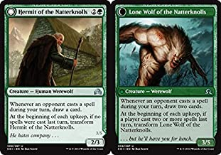 Magic: the Gathering - Hermit of the Natterknolls // Lone Wolf of the Natterknolls (209/297) - Shadows Over Innistrad