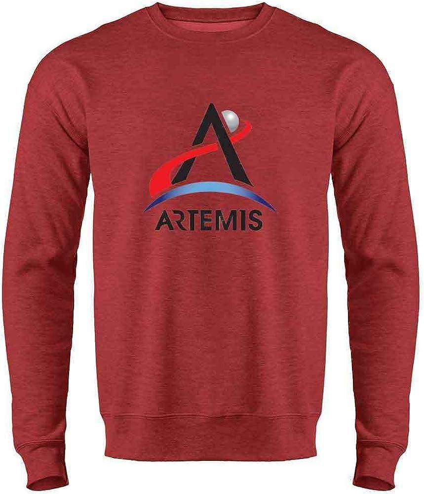 Nashville-Davidson Mall NASA Genuine Free Shipping Approved Artemis Program Emblem Moon Heather C Red Mars 3XL