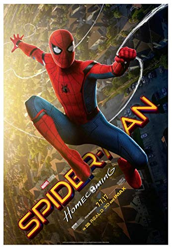 SPIDER-MAN HOMECOMING MOVIE POSTER 1 Sided ORIGINAL Version B 27x40 TOM HOLLAND