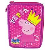 Astuccio Peppa Pig Queen doppio