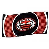 AC Milan - Bandiera - Bullseye - Unisex (One Size) (Multicolore)...