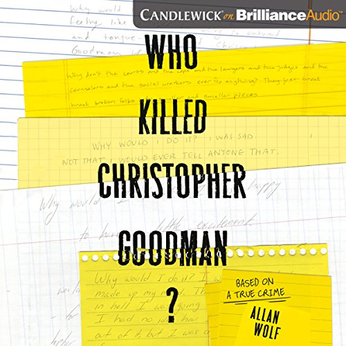 Couverture de Who Killed Christopher Goodman?
