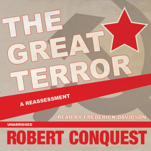 The Great Terror audiobook cover art