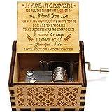 Caja de música You are My Sunshine – Caja de música con diseño más reciente – Regalos de nieta a abuelo – 1 set (TK)