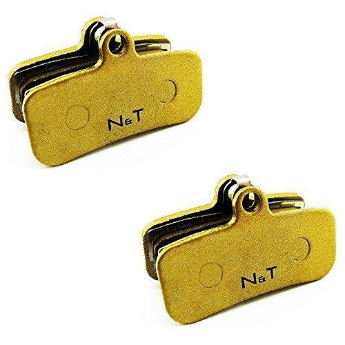 2 x Noah And Theo NT-BP018/Si gesinterte Scheibenbremsbeläge Passform Shimano ZEE BR-m640, Heiligen BR-m810 und Heiliger BR-M820. auch kompatibel mit Polster Modelle H01A, H03C, D01S and D02S