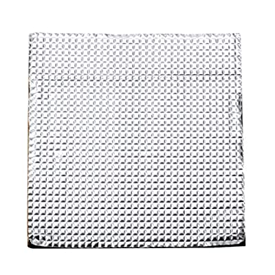 3D Printer Platform Hot Bed Insulation Cotton 400x400x10mm, Foam Foil Self-Adhesive Insulation Mat, Hotbed Thermal Pad