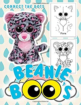 Beanie Boo Connect The Dots  Beanie Boo Featuring Fun And Relaxing Activity Connect Dots Coloring Books For Adult