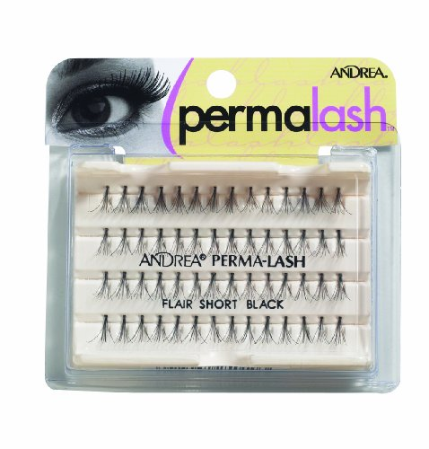 Andrea Permalash Individual Lashes - Flair Short, 56-Count (Pack of 4)