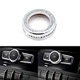 Thor-Ind Bling Crystal Audio Volume Sound Knob Button Cover for Mercedes-Benz A...