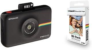 83bd65c96d Polaroid SNAP Touch - Cámara digital con impresión instantánea y pantalla  LCD (negro) con