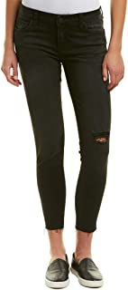 KUT from the Kloth Womens Connie Ankle Skinny with Cut Off Hem Jeans in Ideal