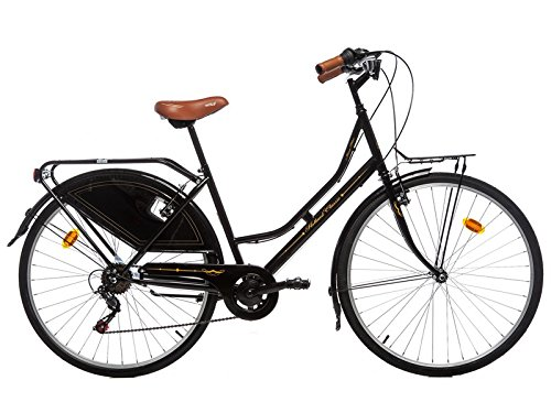 Moma Bikes Holanda Fahrrad, Schwarz, One Size