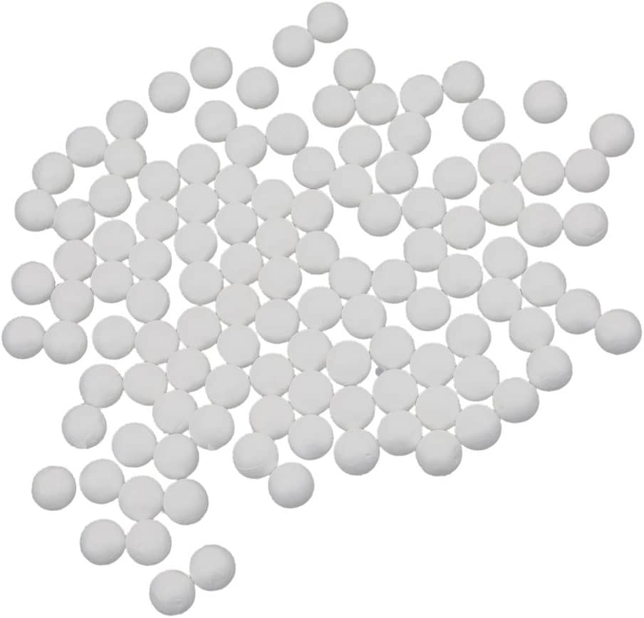 10mm White Colaxi 100pcs White Modelling Polystyrene Foam Ball Styrofoam Christmas DIY Ornaments